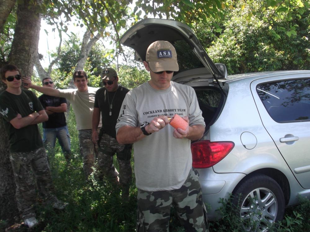 Testando granadas